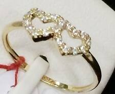 SOLID 18k Saudi Gold Ring - Size 5.5 /  1.1g