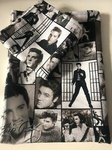 Elvis Presley. King. Legend. Perfect Gift. Hand Made. T Towel & Face Towel Set.