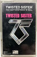Twisted Sister You Can't Stop Rock 'N'  Roll Cassette Tape 80074-4