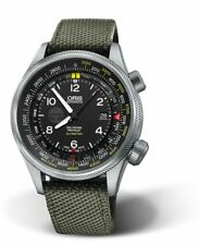 Oris Big Crown ProPilot GIGN Limited Edition Green Textile Strap Mens Watch