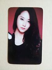 Fx F(X) Photo Card Photocard - Krystal ( 3 types / fan-made, similar texture)