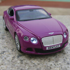 Bentley GT W12 Alloy Diecast 1:32 Car Model Sound & Light Collection Purple