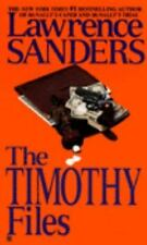 The Timothy Files by Sanders, Lawrence, Good Book