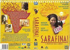 SARAFINA! IL PROFUMO DELLA LIBERTA' (1992) vhs ex noleggio