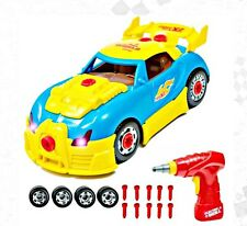 World Racing Car Take-A-Part Toy for Kids with 30 Take Apart Pieces