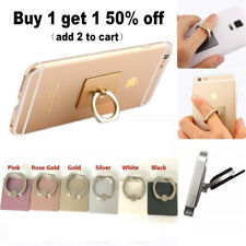 New 360° Finger Ring Metal Grip Stand Holder for iPhone Cell Mobile Phone