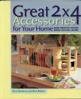 Great 2 X 4 Accessories for Your Home Hardcover Stevie Henderson