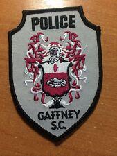 PATCH POLICE GAFFNEY - SC SOUTH CAROLINA state