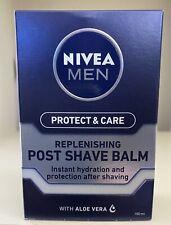 Nivea Men Post Shave Balm Sensitive Replenishing Care 100ml NEW Free P&P