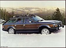 Old Print.  1985 AMC Eagle Wagon Limited Auto Ad