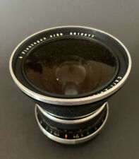 DDR CARL ZEISS JENA Zebra Objektiv Flektogon 4/50 mm Lens PENTACON SIX KIEV VEB