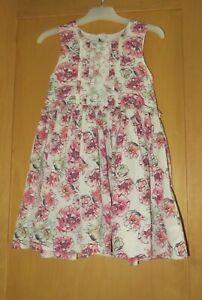 GIRLS 3-4 YEARS FLOWER DRESS net lace detail