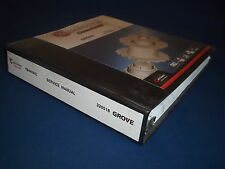 GROVE YB4409XL CRANE SERVICE SHOP REPAIR WORKSHOP BOOK CATALOG MANUAL