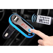 Bluetooth FM Transmitter USB SD MP3 Player Auto KFZ Freisprechanlage mit Remote