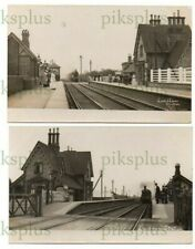 More details for old postcards lowdham railway station nottinghamshire scott real photos 1905-10