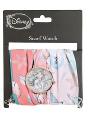 Disney The Little Mermaid Ariel Sketch Scarf Watch Gift New With Tags!