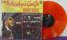 JOHNNY RIVERS Whiskey A Gogo LP ORANGE COLOURED VINYL TAIWAN Import