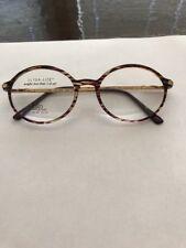 Vintage Logo Paris Purple Tortoise Harry Potter Glasses Demo Lenses 50-19-135