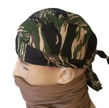 Bandana Gorro Pirata camuflaje Tiger Stripe - Pañuelo pelo estilo militar