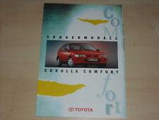 60549) Toyota Corolla Comfort Prospekt 09/1995