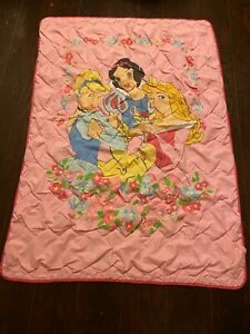 DISNEY PRINCESS  BLANKET 52 x 37 inches approx.