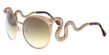 Roberto Cavalli RC890S/S 5734F MENKALINAN Gold Cat Eye Sunglasses