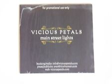 VICIOUS PETALS MAIN STREET LIGHTS CD NEW SEALED PROMO ADVANCE 2016