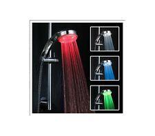 Soffione per doccia miscelatore LED CROMOTERAPIA per bagno tre colori