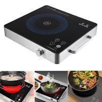 2200W 220V Electric Kitchen Induction Cooktop Burner Portable Ceramic Cooker