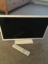 "Great Condition Bush LED24265DVDCNTD 24"" Smart HD LED TV/DVD Combo White"