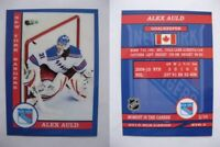 2015 SCA Alex Auld rare New York Rangers goalie never issued produced #d/10