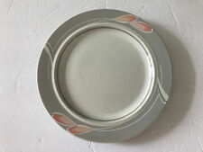 "Epoch China BELAIR E740 On the Go Stoneware, Gray Rim - 7-5/8"" SALAD PLATE"
