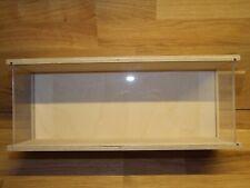 sudu® sammel Acrylglas Vitrine Abdeck Haube Spur 1-90 cm ohne Sockel