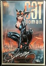 CATWOMAN 80TH #1 J SCOTT CAMPBELL VARIANT E NM SIGNED W/COA BATMAN JOKER HARLEY