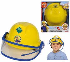 Simba Feuerwehrmann Sam Feuerwehr-Helm mit Licht & Sound