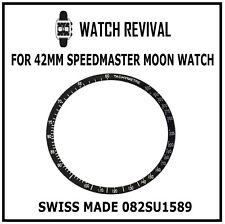 Bisel Hecho en Suiza Insertar Para OMEGA SPEEDMASTER Luna Reloj 42MM 082SU1589 Reino Unido Stock