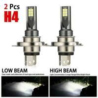 200W Headlight LED Bulbs Error Fog H4 Kit CREE Canbus HID 1Pair 6000k Car Lamps