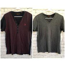 Ben Sherman Lot of Two Mens Short Sleeve Shirts- Size M