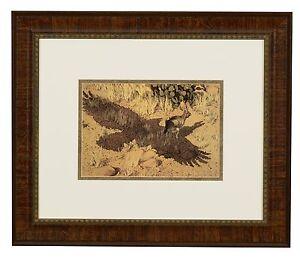 "Bev Doolittle ""Escape by a Hare"" WSS Matted & Framed Art Print"