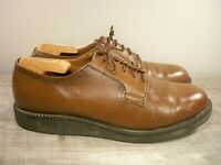 Vintage Red Wing 90's Postman 101 USPS Brown Leather Oxford Derby Shoes Size 9