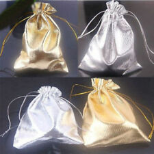 100pcs Luxury Organza Sweet Candy Gift Bags Wedding Party Favour Jewelry Pouches