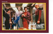 "CAREL STRUYCKEN SIGNED 1991 ""STAR TREK"" TNG 25TH ANNIVERSARY #6 - MR. HOHM"