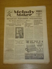 MELODY MAKER 1933 AUG 26 LOUIS ARMSTRONG HOWARD JACOBS BIG BAND SWING