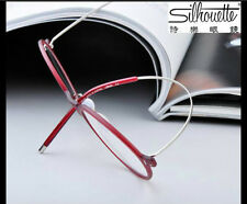 Silhouette Titanium free bending Round Eyeglasses Frame TR90 Glasses Frame 8874.