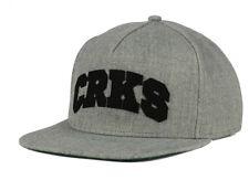 "Crooks & Castles ""CRKS"" Snapback Cap, One Size Fits All, Unisex, Adjustable Hat"