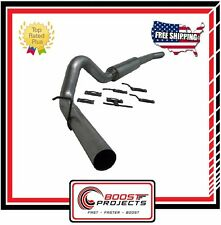 """MBRP Ford F-250/350 6.0L 4"""" Cat Back, Single Side (Stock Cat) 2003-2007 S6208P"""