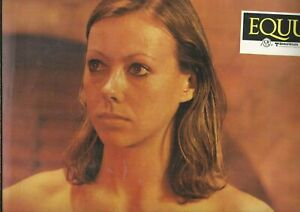 JENNY AGUTTER SEXY BARE SHOULDERS 12X9 VINTAGE LOBBY CARD  EQUUS