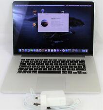 """Mid 2012 Apple MacBook Pro A1398 15.4"""" Retina  i7 2.3Ghz  8GB RAM 256GB SSD"""