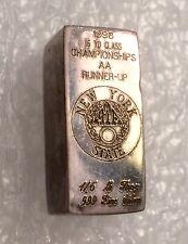 New York State ATA Trapshooting 1998 Poured 999 SILVER BAR 1/6 Troy LB