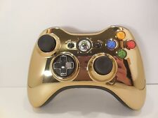 XBOX 360 Chrome Gold Star Wars Limited Edition CP3O 1403 Wireless Controller